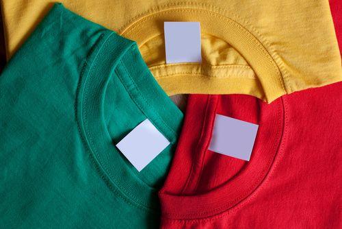 Farebné trička