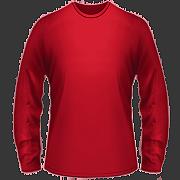 B18-Men-185 Pánske tričko hrubšie s dlhým rukávom farebné
