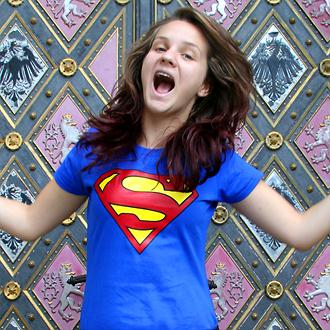 Získaj vlastné tričko Superman