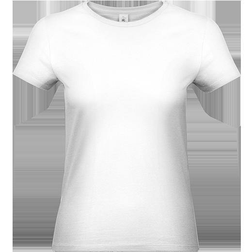 B37E Bavlnené dámske tričko s krátkym rukávom