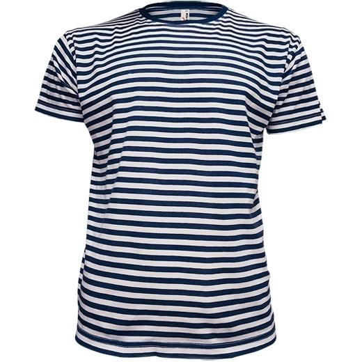 08d330cae390 Pánske námornícke tričko krátky rukáv