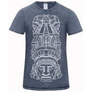 Pánske indinánske tričko Ehecatl