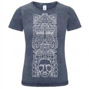 Dámske indinánske tričko Metztli