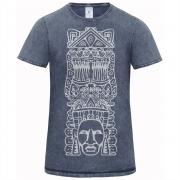 Pánske indinánske tričko Metztli