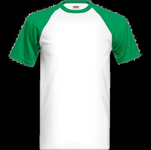 Tričko s farebnými krátkymi rukávmi