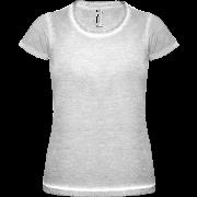 Žíhané tenké dámske tričko