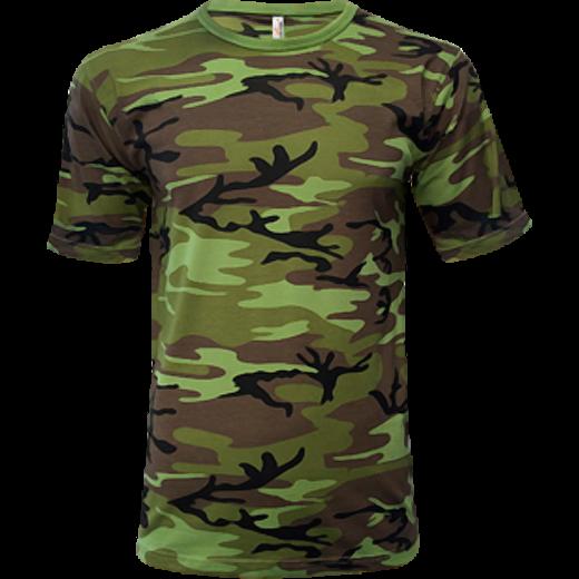 Pánske tričko Military Camouflage 118 · Navrhovať potlač 10e6aae6b95
