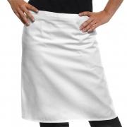 Biela kuchynská zástera