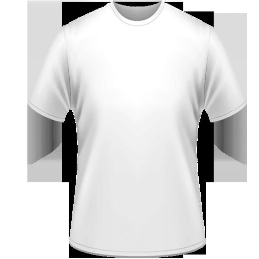 Lacné biele bavlnené tričko