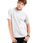 Biele bavlnené tričko