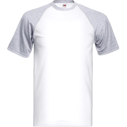 Melírovo biele tričko s farebnými krátkymi rukávmi