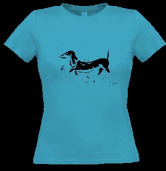 *P006 Dámske tričko jazvečík