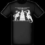 It's hard to be a princess! čierne pánske tričko z kolekcie Pavol Dobšinský