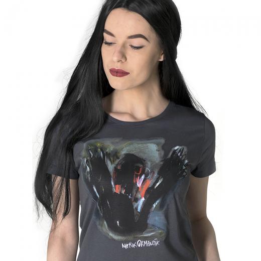 Tričko dámske s maľbou Mareka Ormandíka