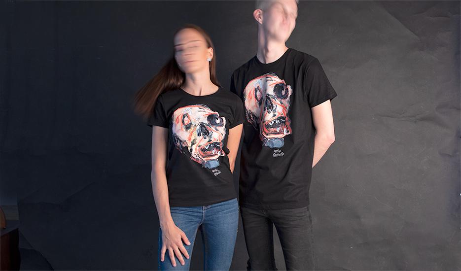 Artová kolekcia tričiek s kvalitnou reprodukciou diela Mareka Ormandíka